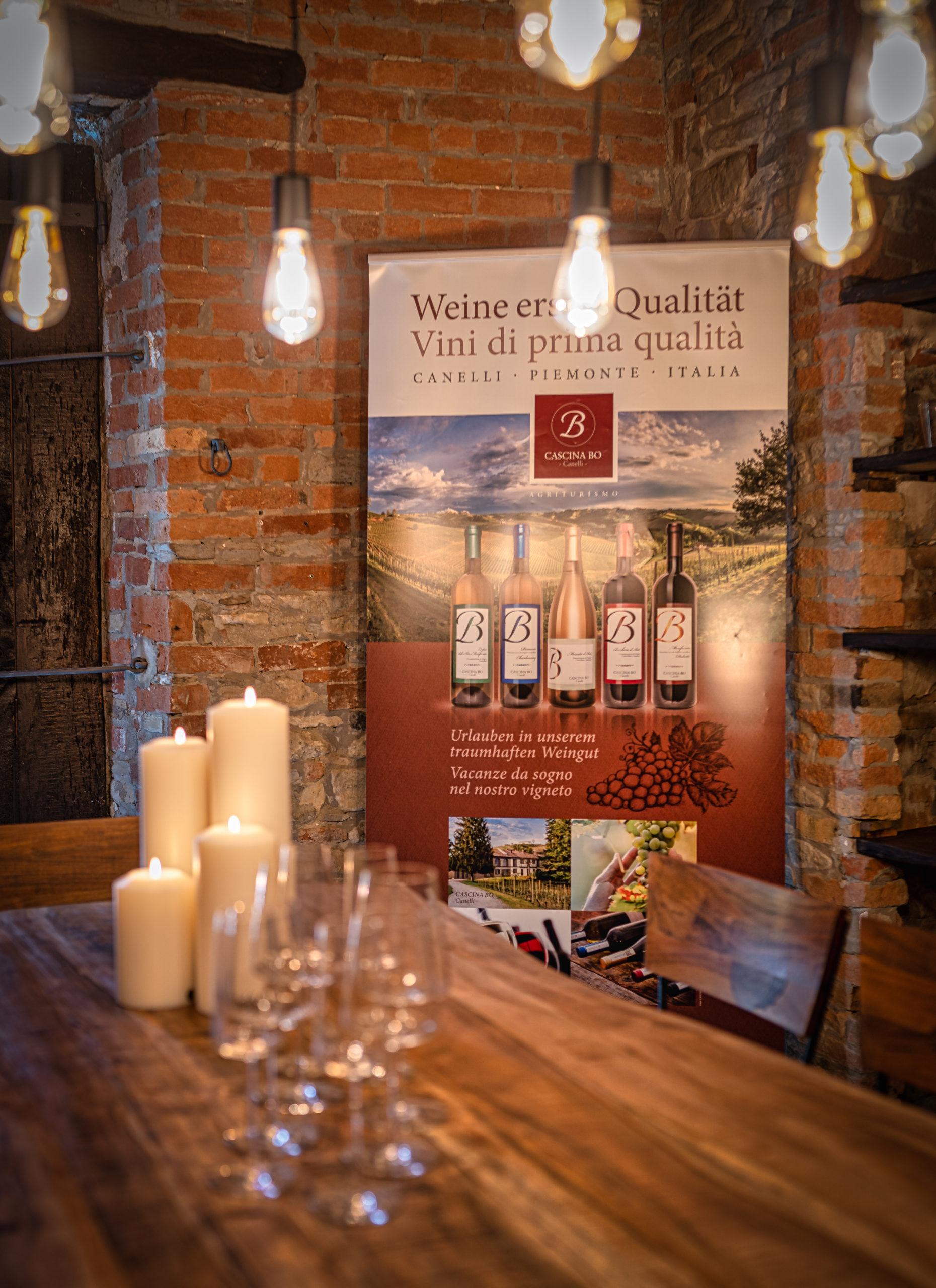 Cascina Bo Canelli - Urlaub im Piemont
